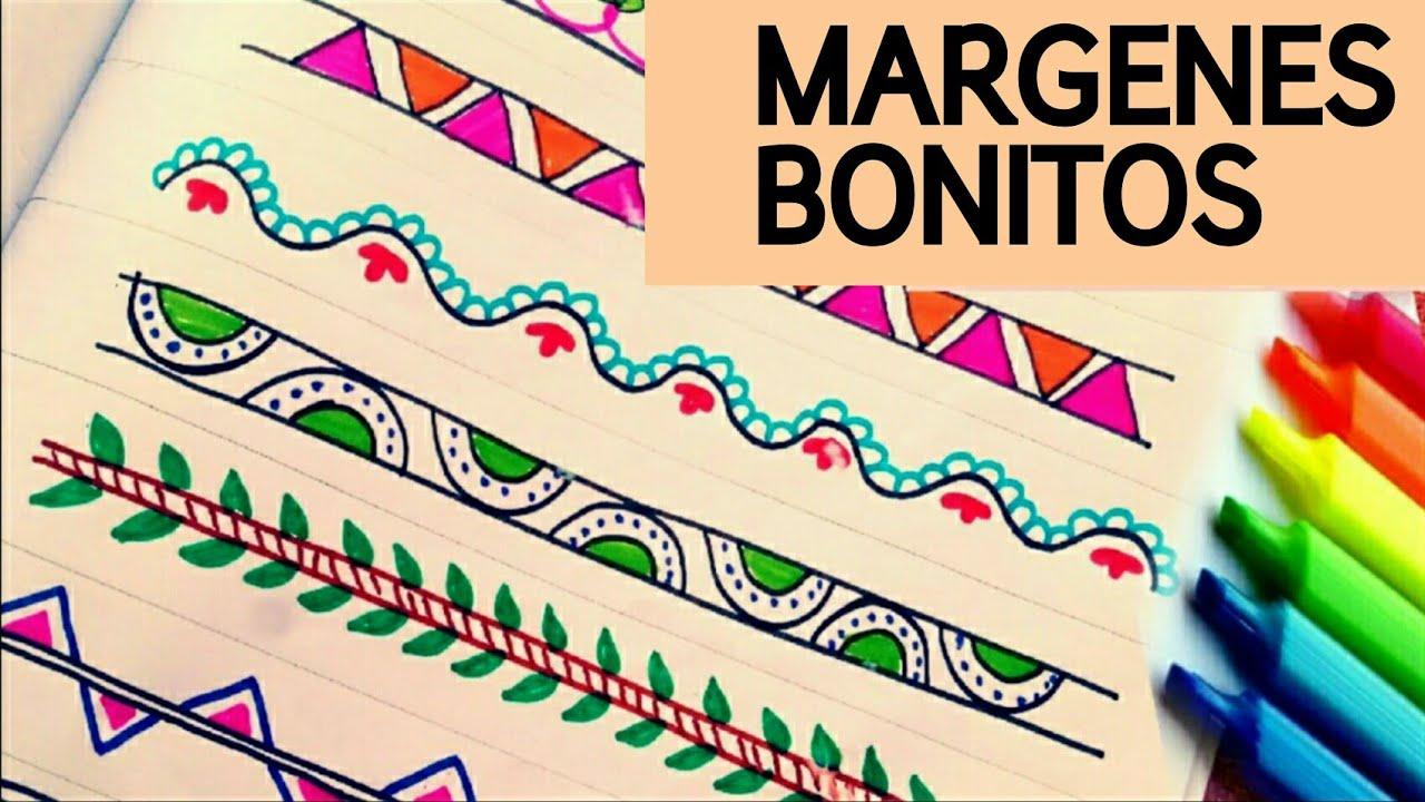 9 margenes / marcos para cuadernos | margenes bonitos | margenes ...