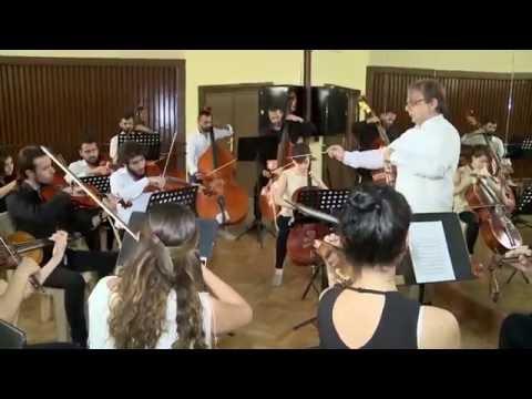 L'Orchestra del Conservatorio Musicale di Damasco per UNESCOgiovani