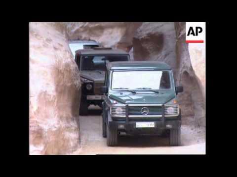 JORDAN: ISRAELI PRIME MINISTER NETANYAHU VISITS CITY OF PETRA