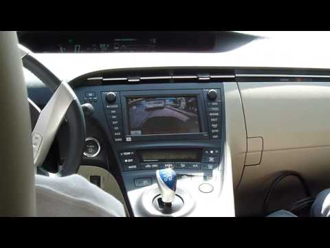 2010 Toyota Prius Self Park In-car Demo