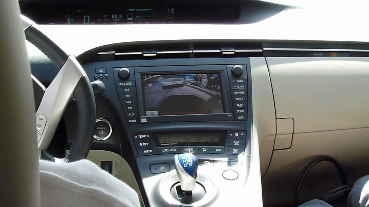 2010 Toyota Prius Self Park In Car Demo