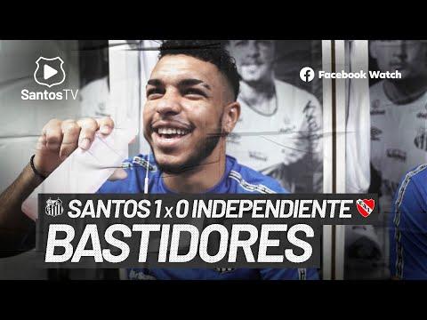 SANTOS 1 X 0 INDEPENDIENTE   BASTIDORES   CONMEBOL SUL-AMERICANA (15/07/21)
