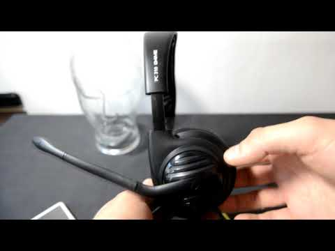 Sennheiser pc 310 g4me headset SPL dB test