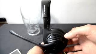 Sennheiser pc 310 g4me headset SPL dB test