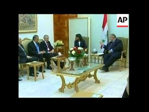 WRAP Rice and Straw on surprise visit, meet Jaafari, adds Iraqi FM