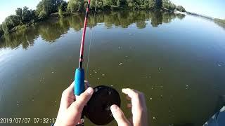 Рыбалка в Трёхостровской на ДонуРЕКОРДНЫЙ ВЕС РЫБЫ