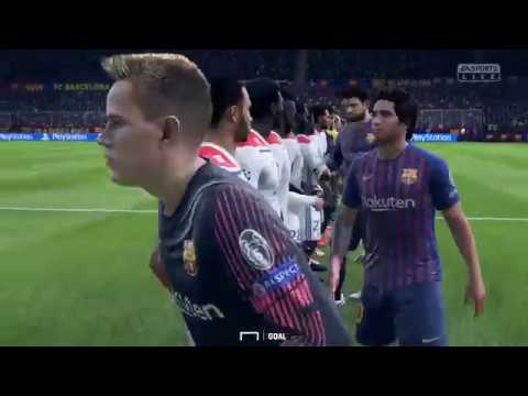 Barcelona - Olympique Lyon: La UEFA Champions League Goal