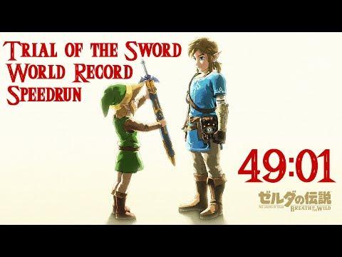 Zelda: BotW - Trial of the Sword Speedrun (49:01)