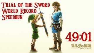 Trial of the Sword World Record Speedrun in 49:01