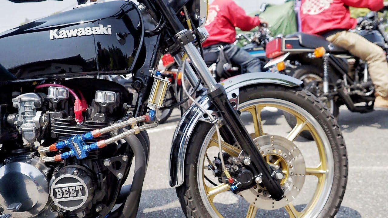 Z1 CBX400F Z400FX Z750FX CB750F KH400 KH250 TW200 ZEPHYR400 CBX550F Z2 Japanese motorcycle videos