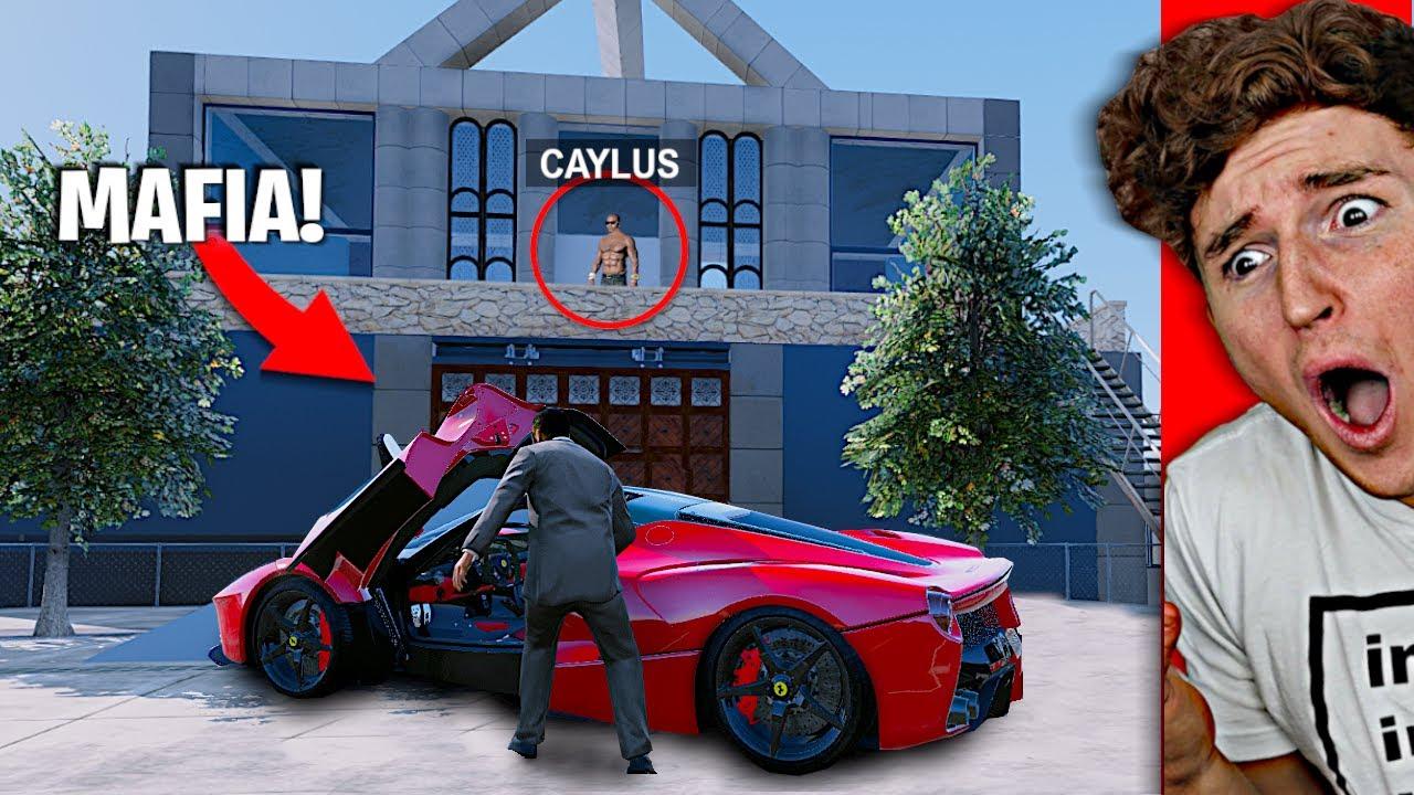 The MAFIA Stole My $500,000 FERRARI In GTA 5.. thumbnail