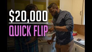Wholesaling Real Estate | $20,000 Quick Flip