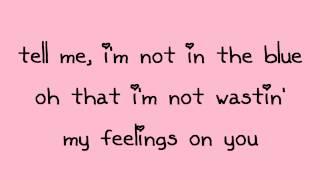 Glee - Crazy & You Drive Me Crazy (Lyrics)