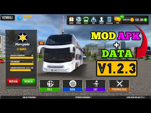 Bus Simulator Ultimate V1.2.3 Mod Apk - Unlimited Money - Gold - Latest Version - - 동영상