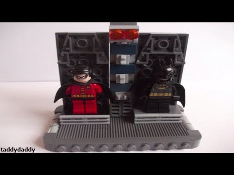 How to make a Lego Batcave Part 4 - Costume Vault - YouTube