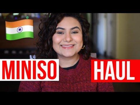 MINISO HAUL!😀👯   Delhi fashion blogger
