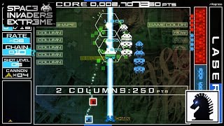 PC Space Invaders Extreme - Arcade Mode - Stage 3-A