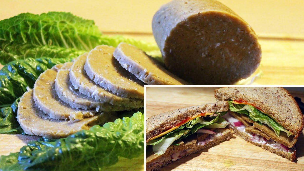 Simple Savory Sandwich Seitan [ vegan ]