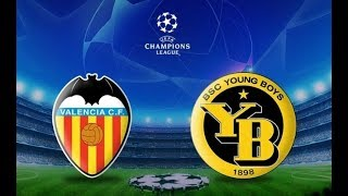 Valencia - Young Boys Live Match / Canlı Maç (1080P)