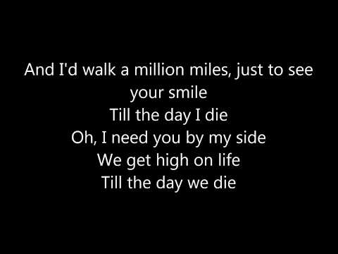 Martin Garrix featBonn - High on Life ( LYRICS )