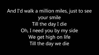 Martin Garrix feat  Bonn - High on Life ( LYRICS)