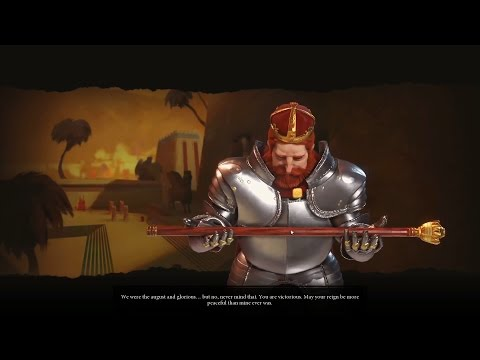 Civ 6 All leaders Defeated Animation |