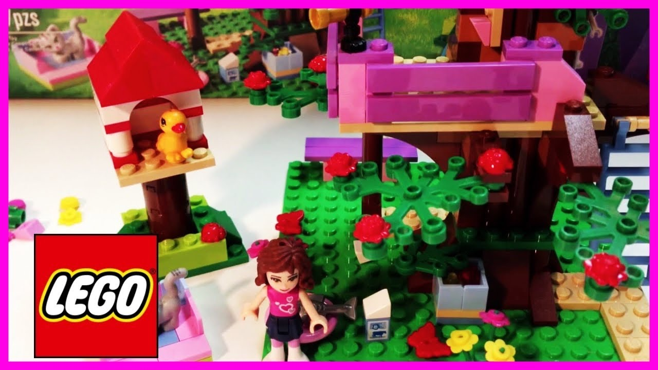 Lego Friends 3065 Olivias Tree House 191 Pieces 1 Figure Cat