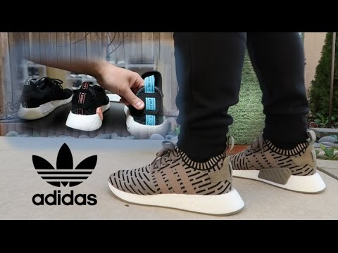 009ebfab7e1c9 Are the Adidas NMD R2 PK Better  Review Comparison + On Feet - YouTube