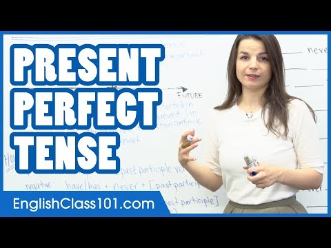 Present Perfect Tense - Learn English Grammar