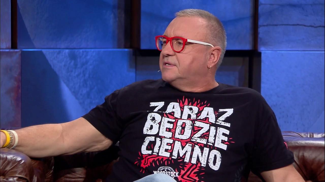 Jerzy Owsiak opisał swoje życie tytułem jednej piosenki [Kuba Wojewódzki]