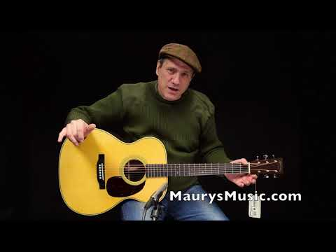The Martin 000-28 (2018) at Maury's Music