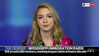 The Debrief: Dayton shooting developments, ICE raids, Cyntoia Brown released | ABC News