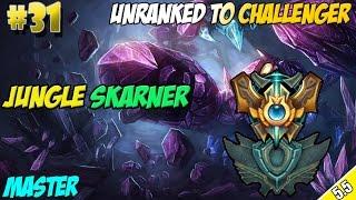 ✔ Jungle Skarner Patch 5.5 - Unranked to Challenger #31 | Master 65 LP | Season 5 | TANK HARD!
