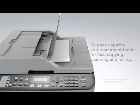 Brother MFC L2700DW Compact Mono Laser All in One Printer Fax Wi Fi