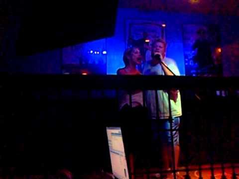 Sonny McClean's Karaoke. No liquor involved just friend clams.
