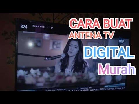 Buat apa Beli Antena Tv LED Digital mahal-mahal? DIY Antenna TV