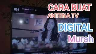 Buat apa Beli Antena Tv LED Digital mahal-mahal? DIY Antenna TV