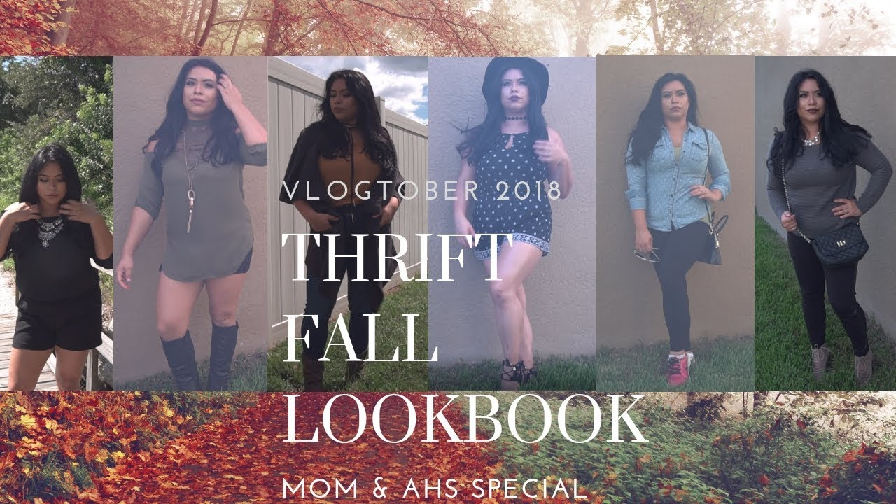 [VIDEO] - THRIFT HAUL FALL LOOKBOOK (THICK fashion) FUNNY !! #thick #comedy #thickfashion 4