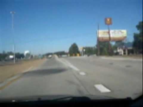 Getting onto I-30 (Texarkana AR-TX)