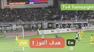 هدف بن يوسف لشبيبة القبائل ضد وفاق سطيف/ JSK 1-0 ESS