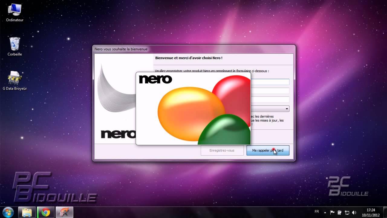 télécharger nero gratuit pour windows 10