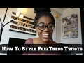 How To Style FreeTress Twists