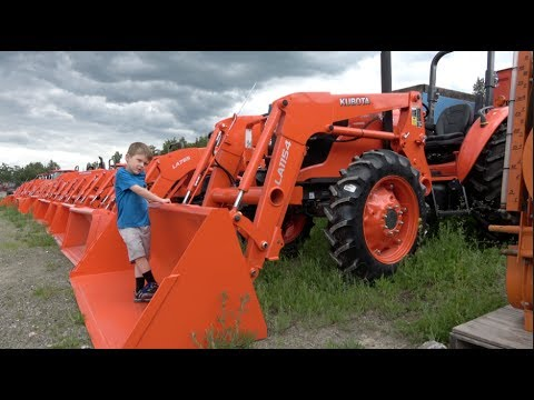 THE TRACTOR TRACKER - KUBOTA CONSTRUCTION EQUIPMENT DEALERSHIP