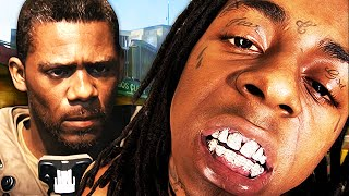 ANGRY RAPPER GETS TROLLED ON ADVANCED WARFARE! (Intense Rage)