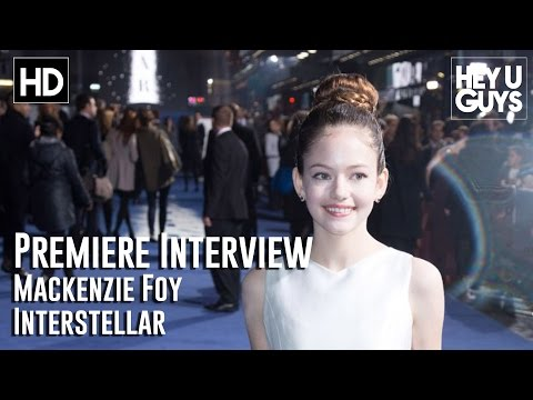 Mackenzie Foy Interview - Interstellar Premiere