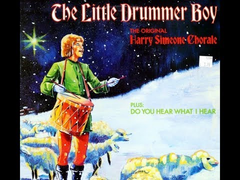 The Harry Simeone Chorale - The Little Drummer Boy - mono and stereo versions