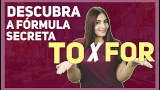 FÓRMULA SECRETA DE  TO X FOR - Ci Locatelli