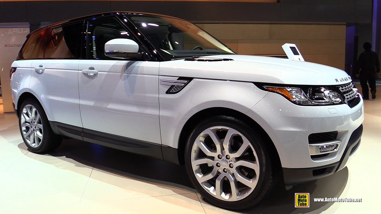 2017 range rover sport hse diesel exterior and interior walkaround 2016 la auto show youtube. Black Bedroom Furniture Sets. Home Design Ideas