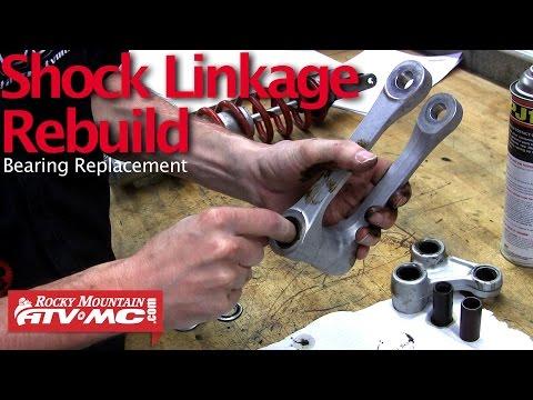 Motorcycle Shock Linkage Rebuild & Bearing Replacement