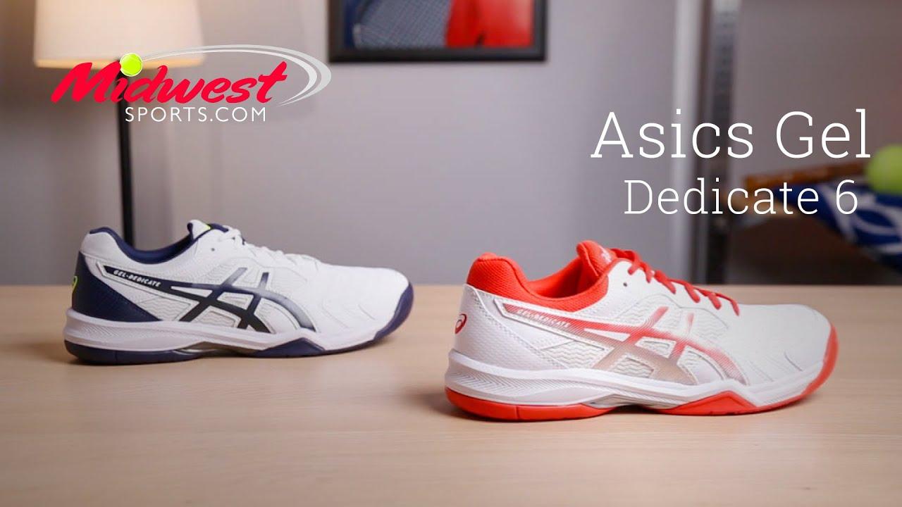 Asics Gel Dedicate 6 Shoe Review